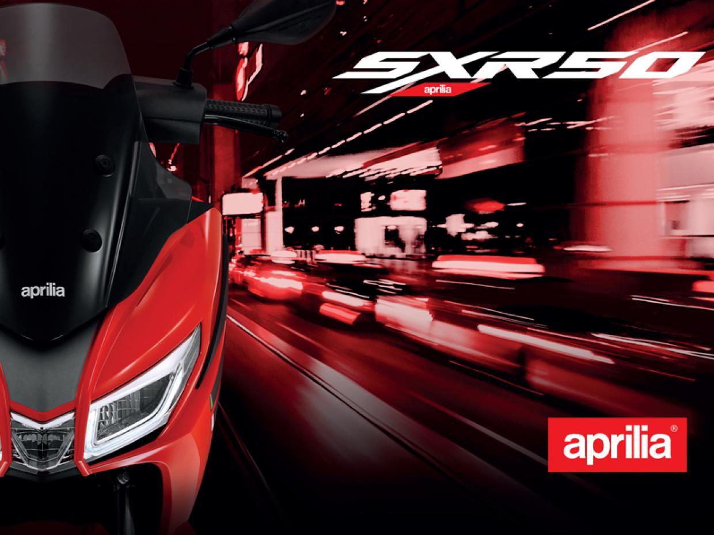 APRILIA SXR 50  Le nouveau né de la gamme Aprilia Scooters