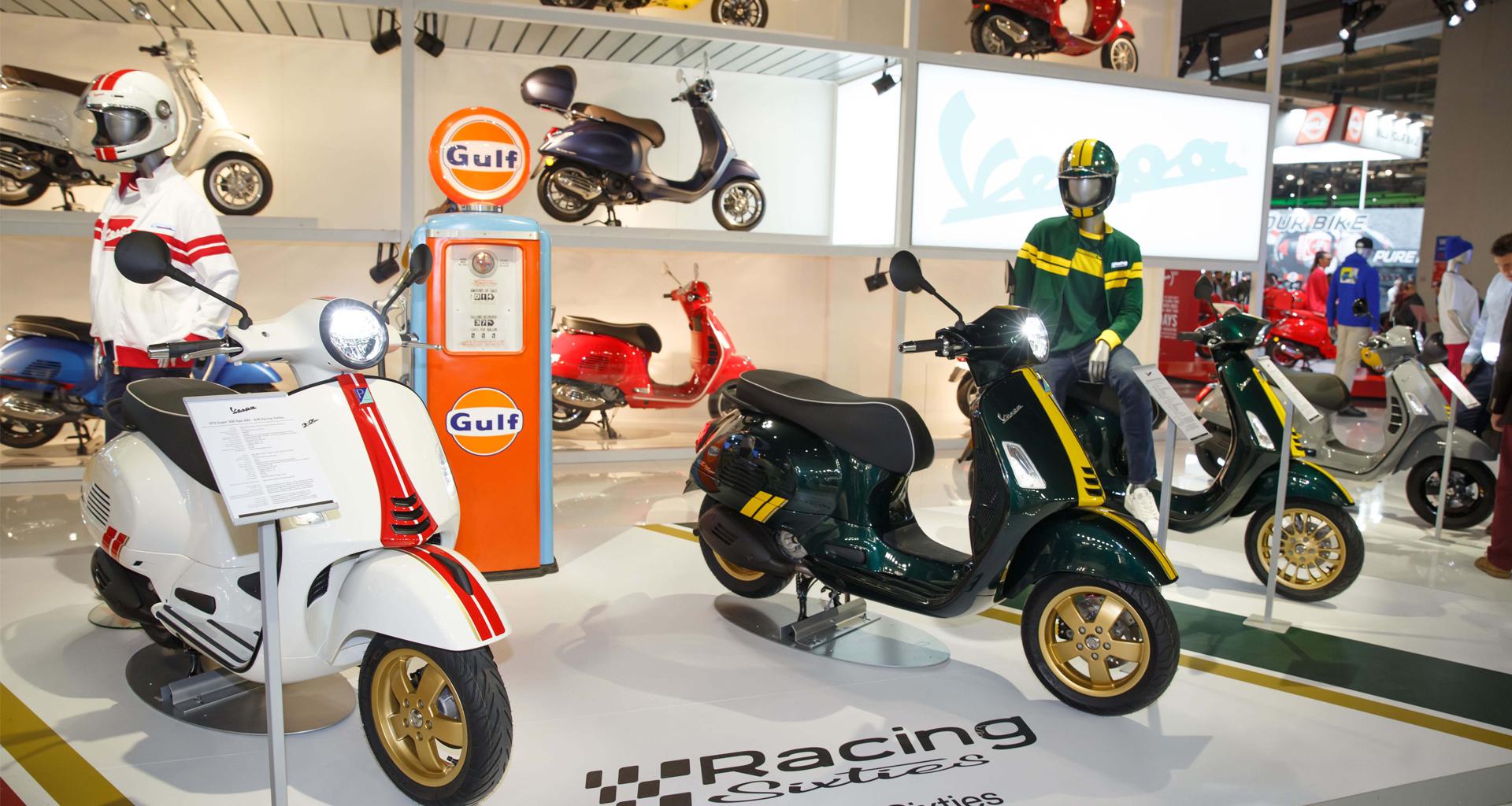 Salon de Milan EICMA 2019: Série spéciale Racing Sixties