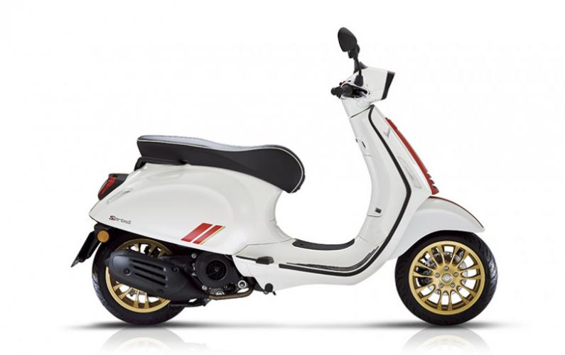 Vespa Sprint Racing Sixties 50cc I-GET EURO 5