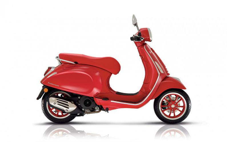 Vespa Primavera RED 50cc I-GET EURO 5