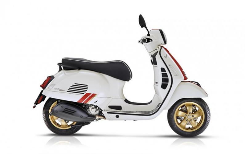 Vespa GTS Super Racing Sixties 125cc I-Get EURO 5
